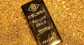 זהב מתכות יקרות, צילום: בלומברג