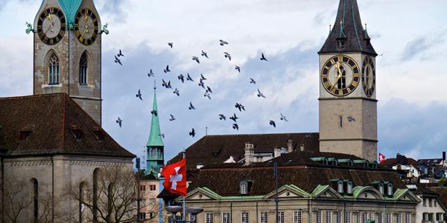 ציריך, שוויץ, צילום: בלומברג