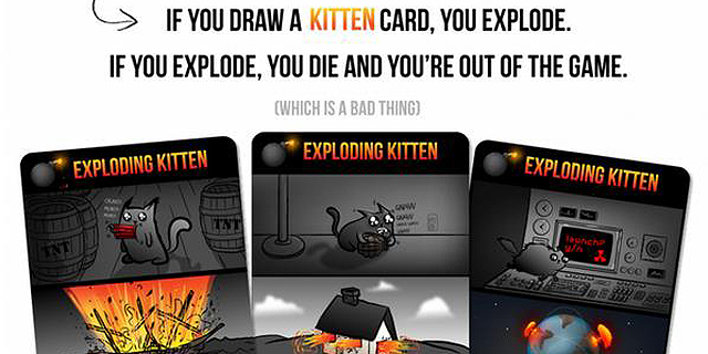 חתולים מתפוצצים: יוצר קומיקס רשת גייס מיליון דולר בשבע שעות