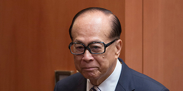 """לקראת עסקת ענק: לי קא-שינג במו""""מ לרכישת O2 תמורת 15 מיליארד דולר"""