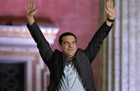 ראש ממשלת יוון הנבחר אלכסיס ציפרס. זוכה לתמיכת אובמה, צילום: איי אף פי
