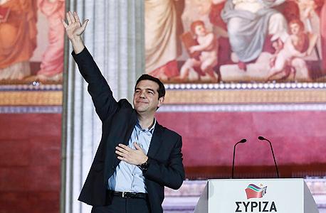 אלכסיס ציפרס ראש ממשלת יוון, צילום: איי פי