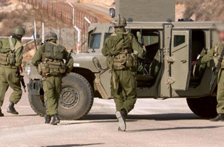 חיילים בגבול הצפון (צילום ארכיון)