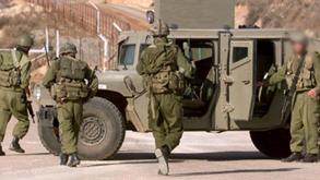 """גבול הצפון גדר הצפון לבנון חיזבאללה צה""""ל חיילים ג'יפ, צילום: רויטרס"""