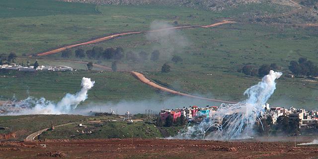 """האש בגבול הצפון: אין נפגעים לכוחות צה""""ל שהגיבו בירי ארטילרי מאסיבי"""