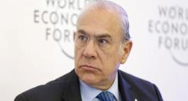 """מזכ""""ל ה-OECD אנחל גורייה, צילום: בלומברג"""