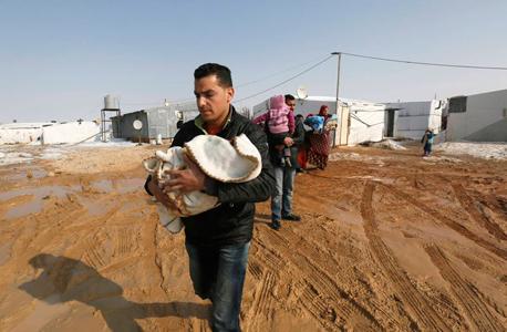 מחנה לפליטים סורים בלבנון