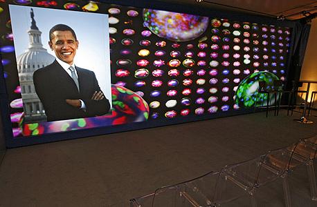 ועידת דאבוס הוועדיה הכלכלית בדאבוס ברק אובמה, צילום: בלומברג