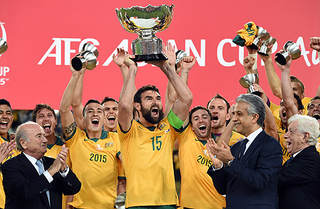 נבחרת אוסטרליה. הניצחון אתמול על דרום קוריאה סוגר דאבל חלומי לכדורגל במדינה, שבשנה האחרונה, פשוט נמצא על הגל