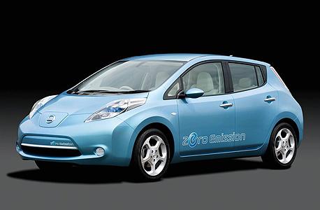 ניסאן ליף חשמלית. 6 יחידות נמסרו ב־2014; השקה: סוף 2013; מחיר: 140 אלף שקל
