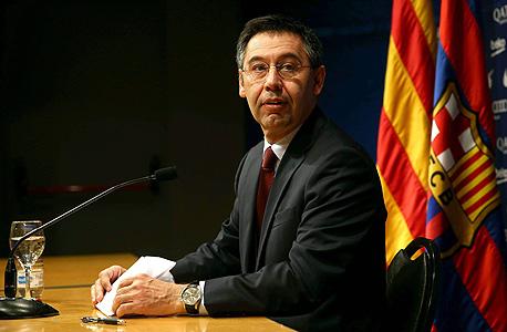 ג'וזף מריה ברתומיאו, נשיא ברצלונה. גם יועמד לדין