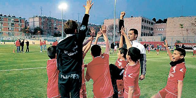 """ליגת השכונות של הפועל קטמון ירושלים. """"קטמון תעשו לנו כדורגל"""""""