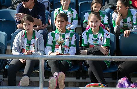 ילדות מקבוצת דו הקיום של הפועל קטמון ירושלים. מקדמים דו קיום בשורשי הדשא של הכדורגל בבירה