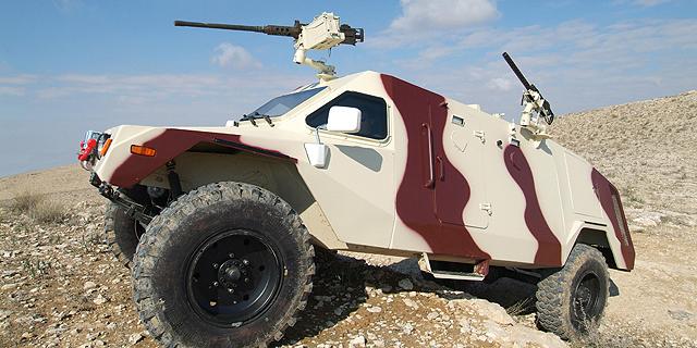 רכב משוריין ראם סימן 3 תוצרת התעשייה האווירית , צילום: התעשייה האווירית