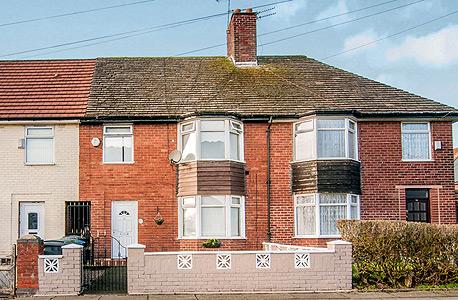 בית ילדותו של פול מקרטני בליברפול, צילום: Entwistle Green