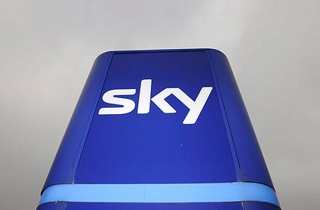 הלוגו של רשת סקיי. בית המשפט מצא דמיון רב ללוגו של סקייפ