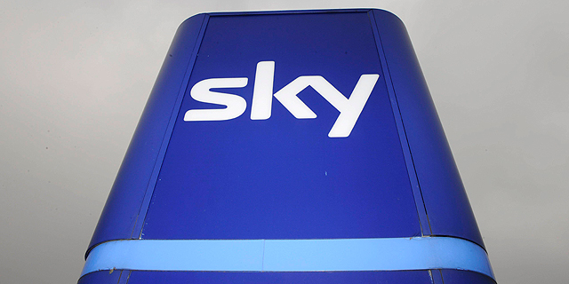 הלוגו של רשת סקיי. בית המשפט מצא דמיון רב ללוגו של סקייפ, צילום: אי פי איי