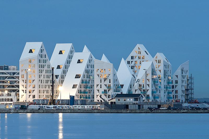 הקרחון, בית דירות בדנמרק