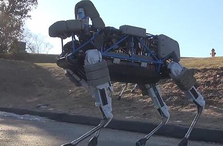 גוגל בוסטון דינמיקס ספוט רובוט כלב ביג דוג, צילום מסך:Youtube