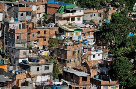 שכונת עוני בברזיל, צילום: שאטרסטוק