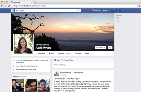 ירושה מוות צוואה פייסבוק