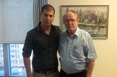 מימין: עורכי הדין יעקב ויינרוט ועמית חדד