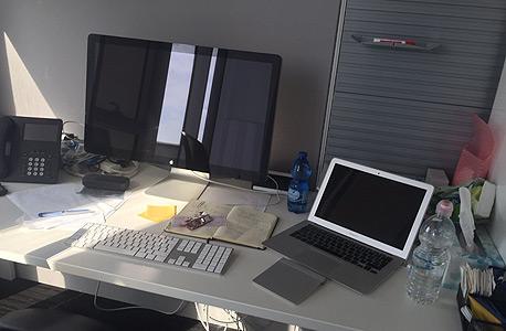משרדי אפל הרצליה ביקור טים קוק, צילום: GSM Israel