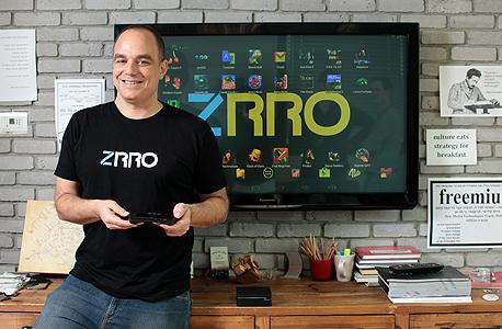"""מנכ""""ל zrro, אורי רימון: """"רימון. """"רוצים להימכר, אבל קודם להגיע למשתמשים"""""""
