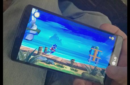 מסך ה-G3 מציג משחק