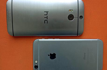 כוכבי האיכות: אייפון 6 וה-M8 של HTC
