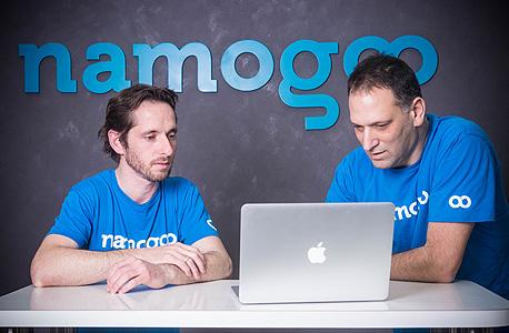 """חמי כץ ואוהד גרינשפן. """"רובם של מנהלי האתרים תופסים את המצח כשאנחנו מראים להם מה קורה לממשק שלהם"""", צילום: אפרת סער"""