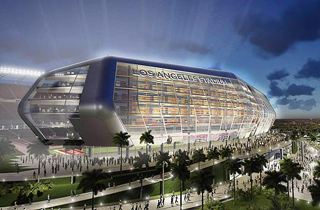 הדמיית אצטדיון NFL, צילום: רויטרס