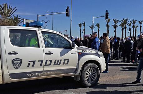 הפגנה מפוטרי כיל ב דימונה, צילום: רועי עידן, ynet