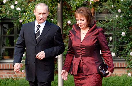 ולדימיר ו לודמילה פוטין רוסיה, צילום: בלומברג