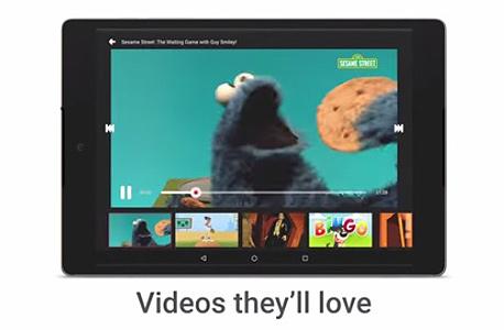 תכנים וממשק שמתאימים במיוחד לילדים. Youtube Kids