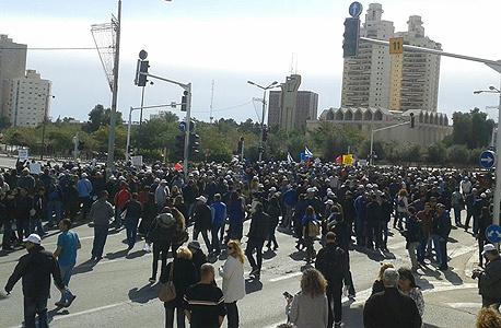 הפגנות כיל באר שבע  פיטורים אבטלה, צילום: דוברות ההתסדרות
