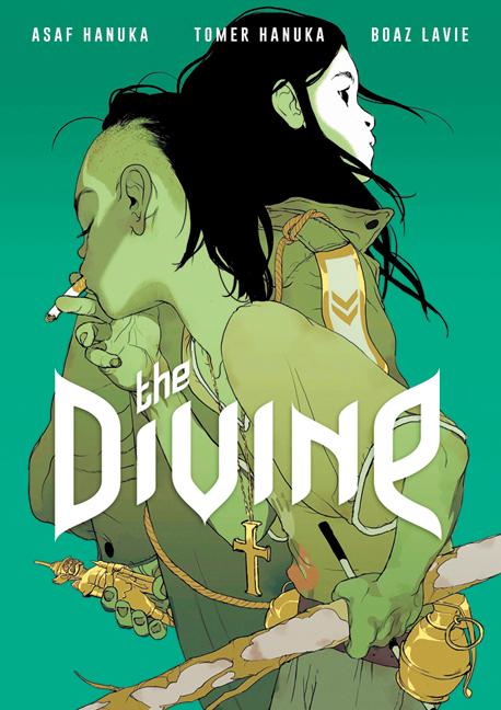 """הספר """"The Divine"""" מאת תומר חנוכה, אסף חנוכה ובועז לביא, איור: אסף חנוכה, תומר חנוכה, בועז לביא"""