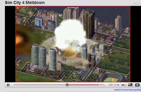 ככה זה נראה במשחק SimCity