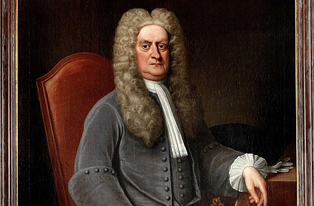 אייזק ניוטון, התפרסם בעיקר בזכות גילוי כוח המשיכה