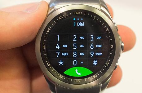 החייגן של שעון ה-Urbane LTE
