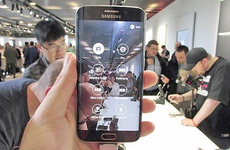 סמסונג גלקסי S6 ברצלונה 13, צילום: עומר כביר