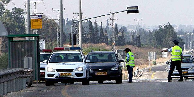 משטרת התנועה בפעולה, צילום: גדי קבלו