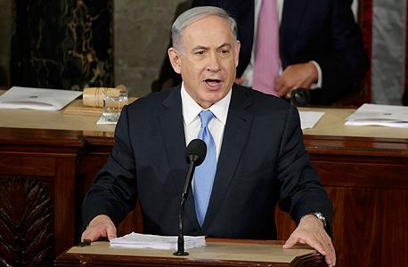בנימין נתניהו הקונגרס וושינגטון איראן 2, צילום: רויטרס