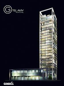 """פרויקט G. 37 דירות פאר ב-31 קומות מעל מרכז מסחרי של 1,000 מ""""ר"""