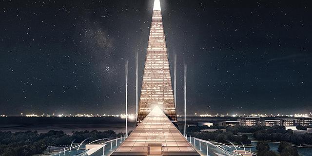 מצרים בונה פירמידה חדשה, גבוהה בהרבה מזו של גיזה