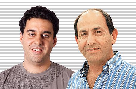 מימין רמי לוי ו אהוד שבתאי, צילום: ענת זכאי
