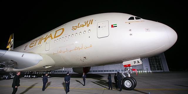 Emirati airline Etihad Airways starts selling tickets in Israel