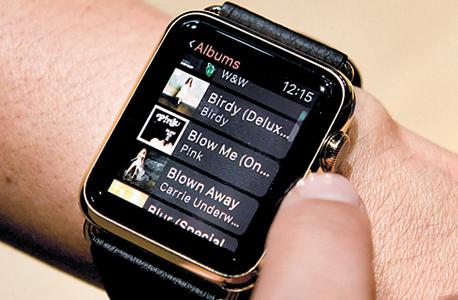 אפל שעון  אפל ווטש , צילום: בלומברג