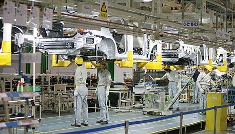 מפעל של טויוטה (ארכיון)