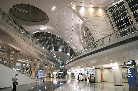 מקום 4. שדה תעופה אינצ'און, דרום קוריאה